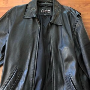 Size Small Wilson's leather Men's Jacket